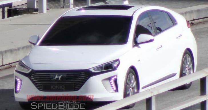 Hyundai Ioniq video reveals finished product