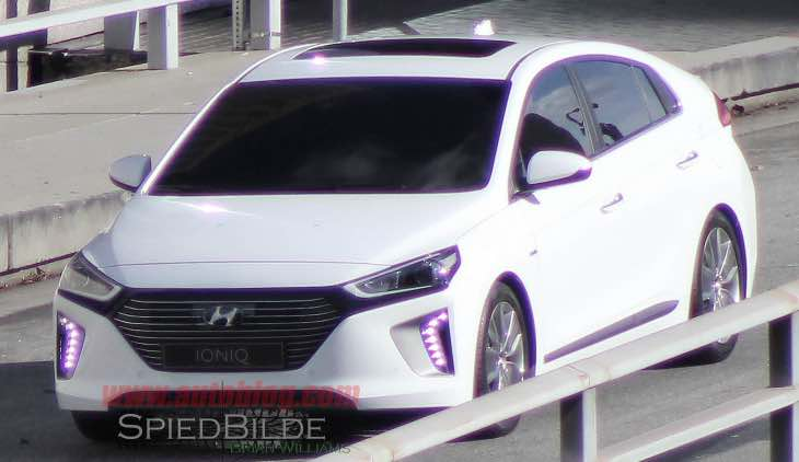 Hyundai Ioniq video reveals finished product