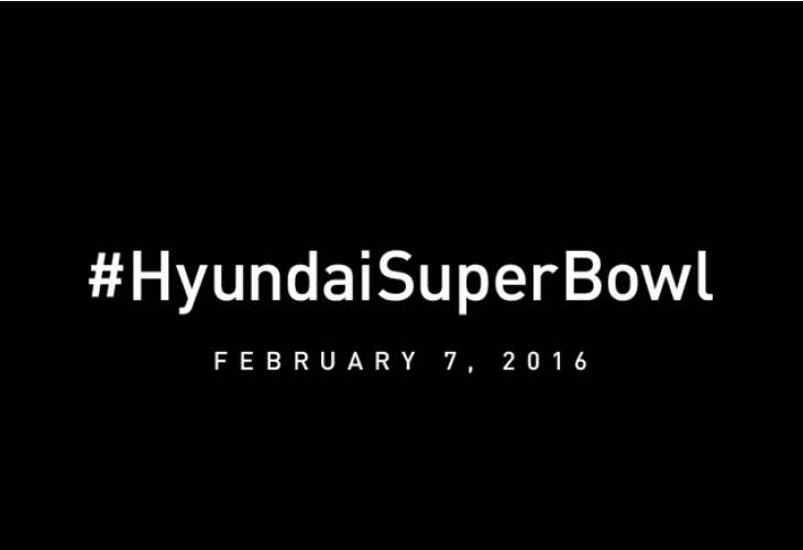 Hyundai Super Bowl Teaser