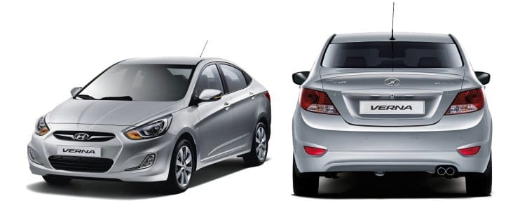 Hyundai Verna price point in India