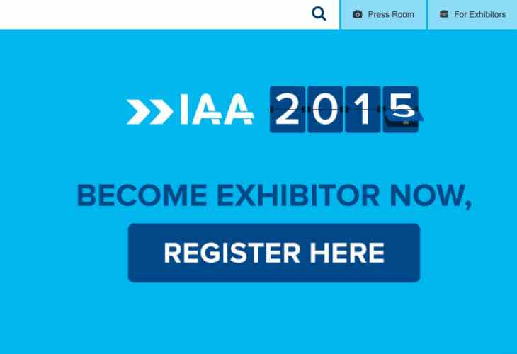 IAA 2015 exhibitor list