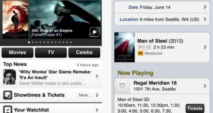 IMDb Mobile App for Android, iPhone gains update