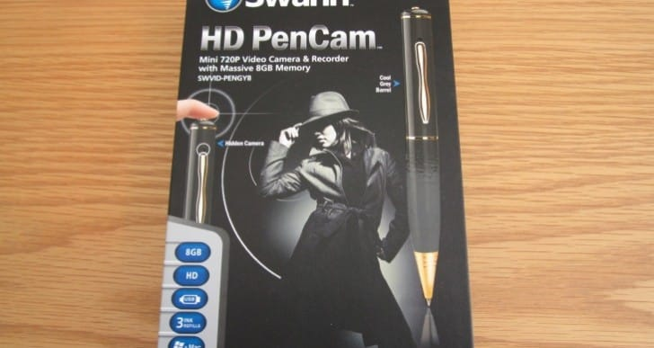 Swann HD PenCam gets scrutinized hands on