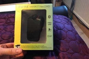 Parrot MINIKIT Neo 2 HD Bluetooth review before Christmas
