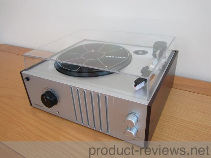 review of crosley player tech turntable on the record product reviews net. Black Bedroom Furniture Sets. Home Design Ideas