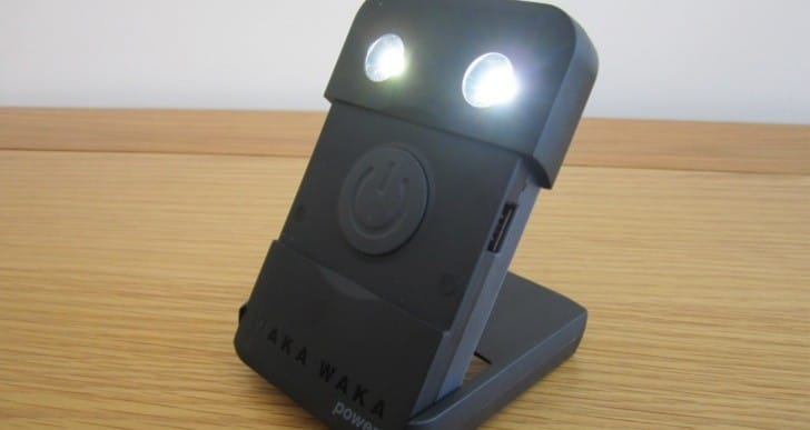 Hands on with Waka Waka Power solar charger and torch