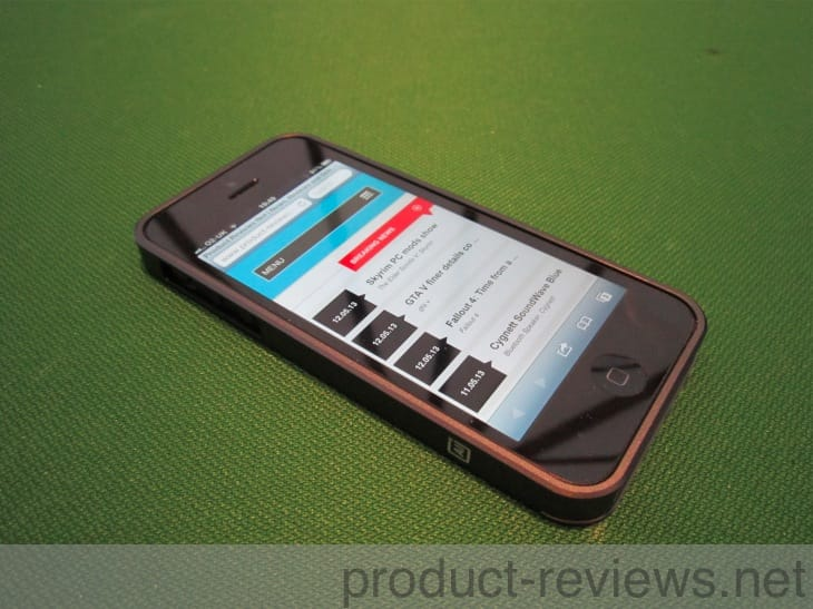 iPhone 5 AL 13 bumper case in AeroSpace Aluminum review