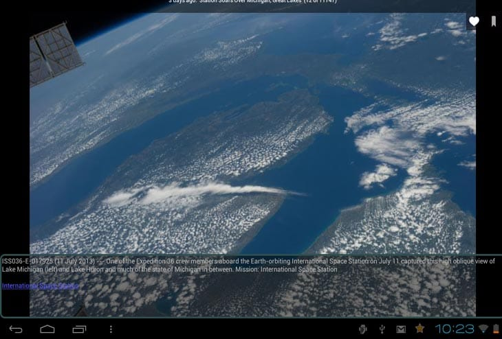 ISS live feed plus NASA Android app – Product Reviews Net