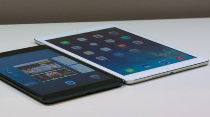 Ideal iPad screen size for 2014 release