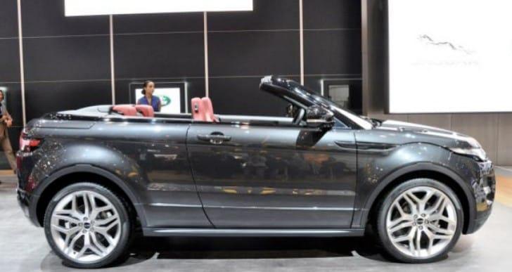 Improbable Range Rover Evoque convertible release
