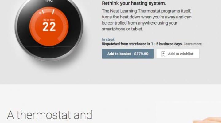 Improving Nest Thermostat availability, not price