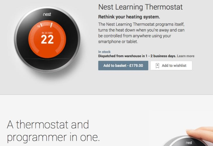 Improving Nest Thermostat availability, not price