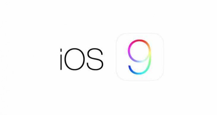 iOS 9 release time today with beta 1 notes