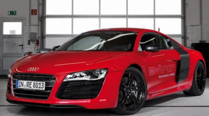 Increased Audi R8 e-tron range makes production viable