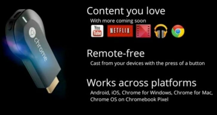 Increased Google Chromecast apps and support imminent
