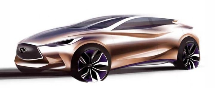 Infiniti Q30 Concept eye candy ahead of Frankfurt