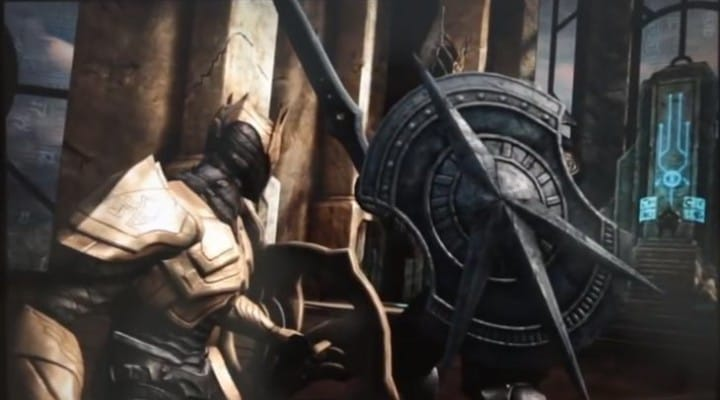 Infinity Blade 3 1.2 update, review on iPad Mini 2