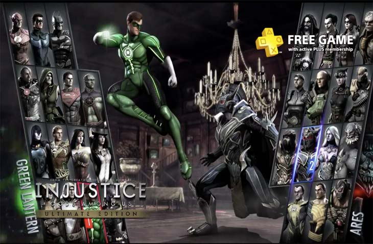 Injustice-Gods-Among-Us-free-PS4-ps-plus