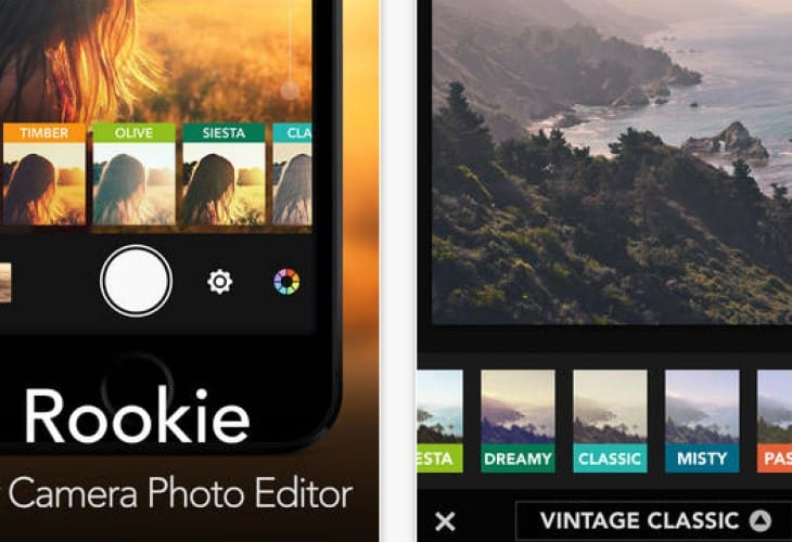 Instagram camera app alternative Rookie gets update