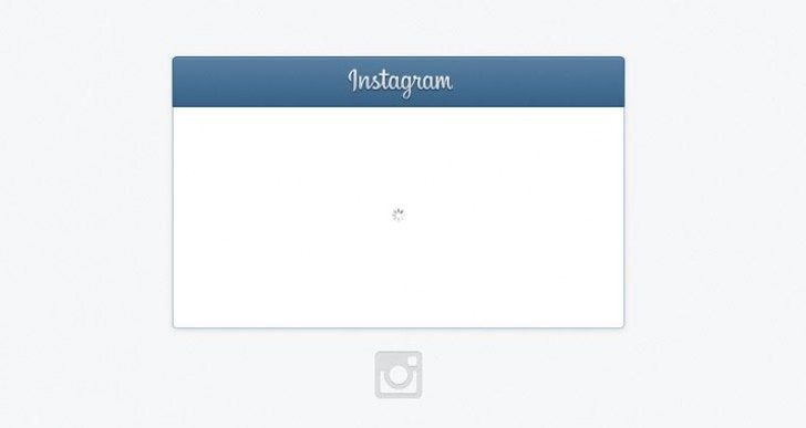 Instagram goes down with sign in not loading