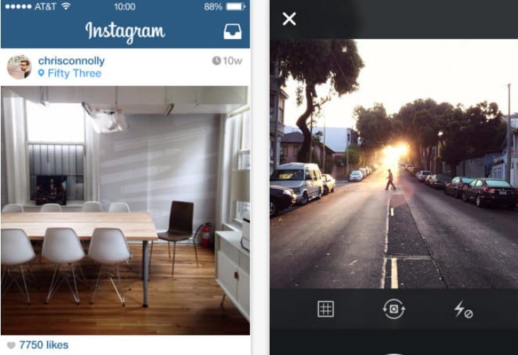 Instagram update removes Facebook sharing