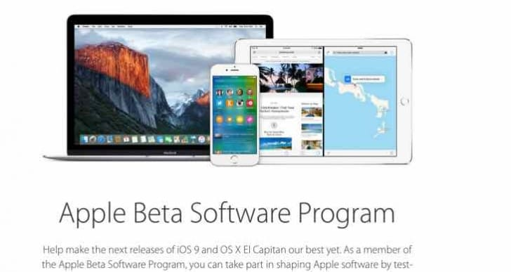 Installing iOS 9 public beta on your device