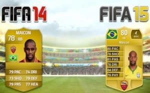Inter Milan and AS Roma FIFA 15 player ratings
