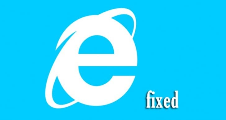 Internet Explorer bug fallout