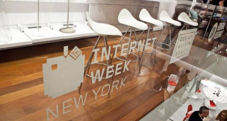 Internet Week starts, schedule for New York