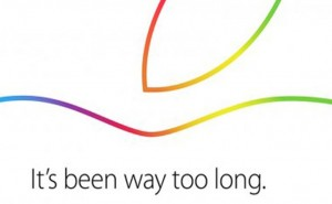 Invitation for Apple October 2014 event