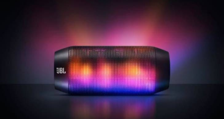 JBL Pulse Wireless Speaker review of light show