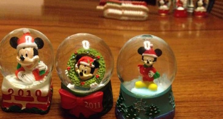 JCPenney snow globes launch time for 2014