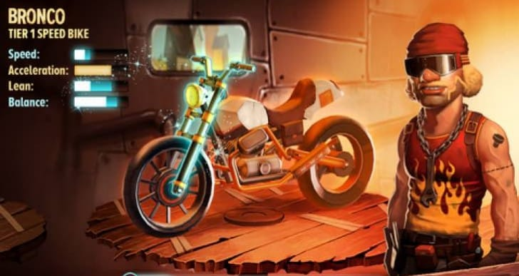 Trials Frontier app sees Halloween Jack O' Lantern update
