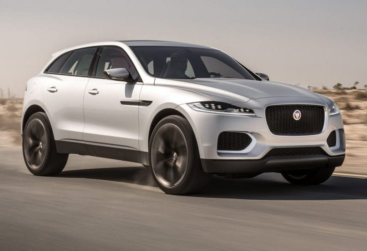 Jaguar C-X17 SUV targets Porsche Macan in 2016