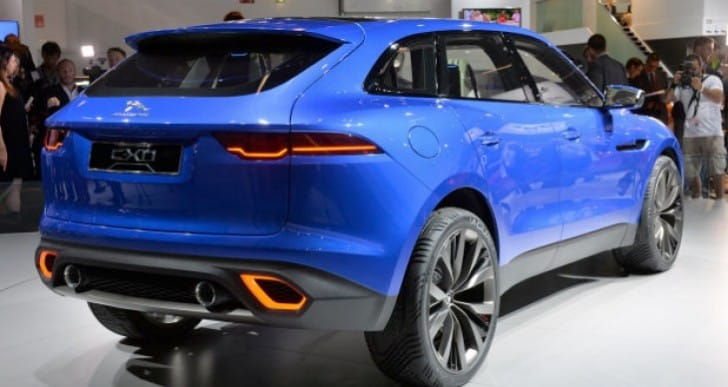 Jaguar C-X17 vs. Lexus LF-NX in visual face-off
