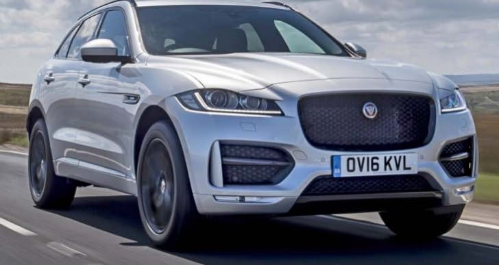 New Top Gear review for Jaguar F-Pace 2.0d