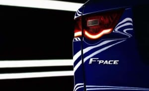 Jaguar F-Pace, an F-type crossover for performance and practicality