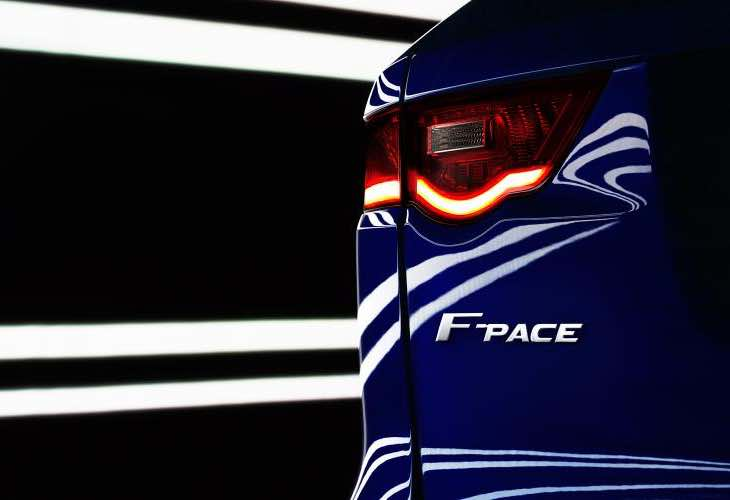 Jaguar F-Pace, an F-type crossover