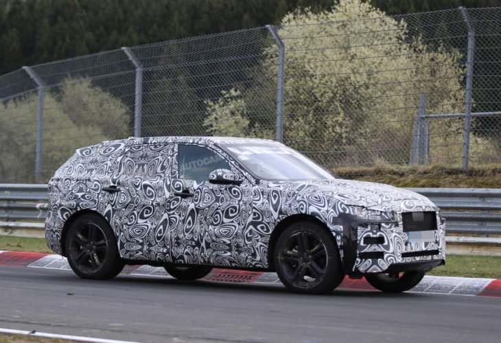 Jaguar F-Pace performance