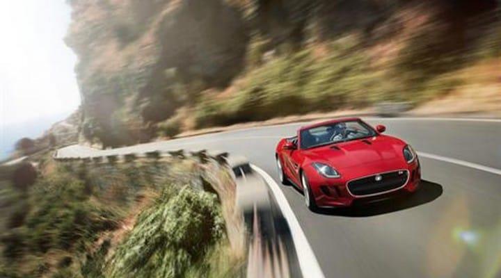 Jaguar F-TYPE shapes up for UK launch