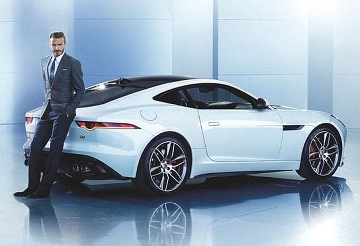 Jaguar F-Type Coupe cements partnership with David Beckham
