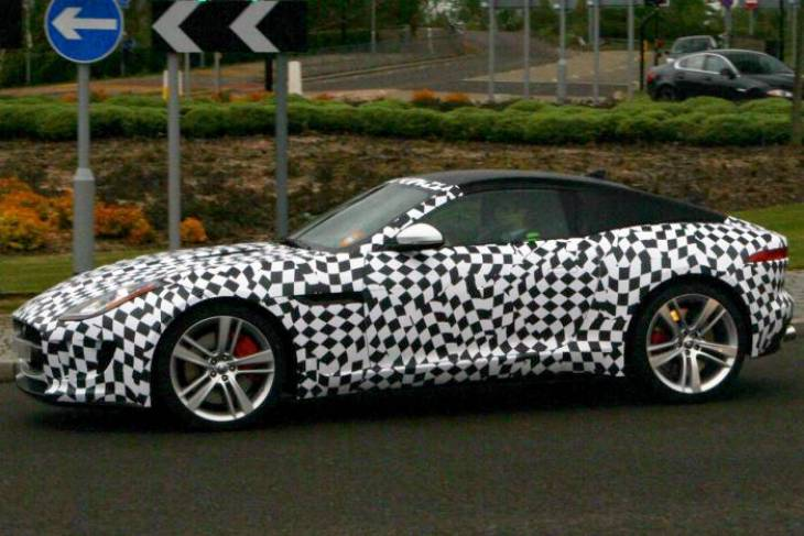 Jaguar F-Type Coupe distinction emulates the E-type