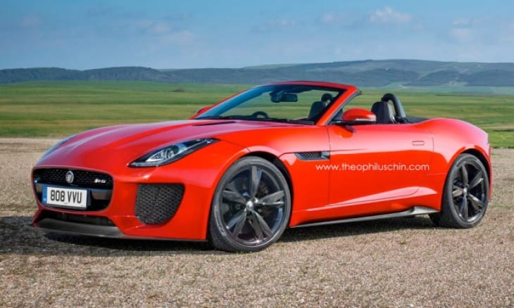 Jaguar F-Type RS eye candy lacks Speedster appeal
