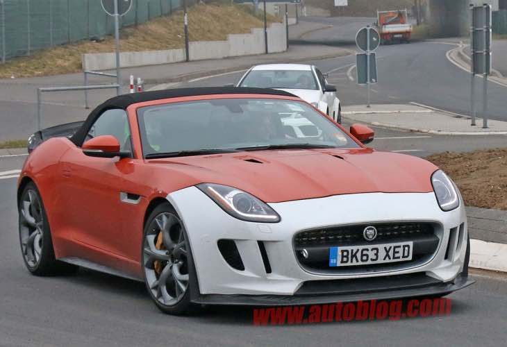 Jaguar F-Type SVR power over weight reduction