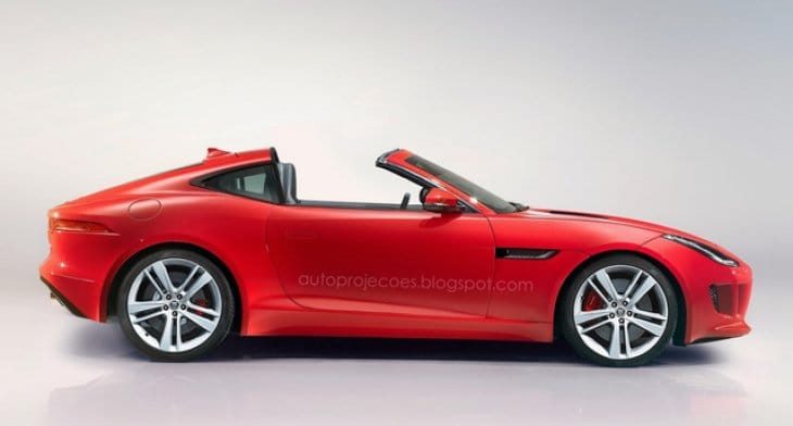 Jaguar F-Type Targa expected