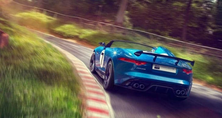Jaguar F-type Project 7 successors eagerness