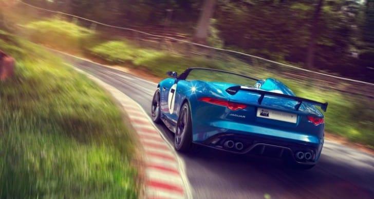 Jaguar F-type Project 7 successors eagerness
