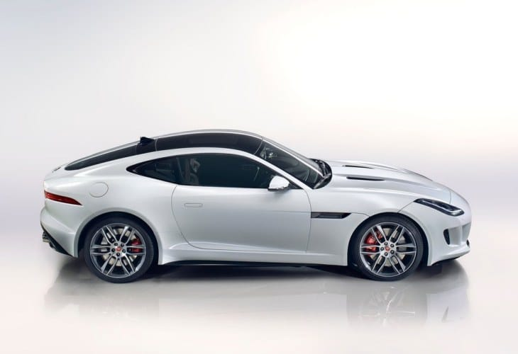 Jaguar F-type R Coupe in 2014