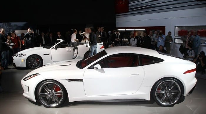 Jaguar F-type coupe eye candy, still no price