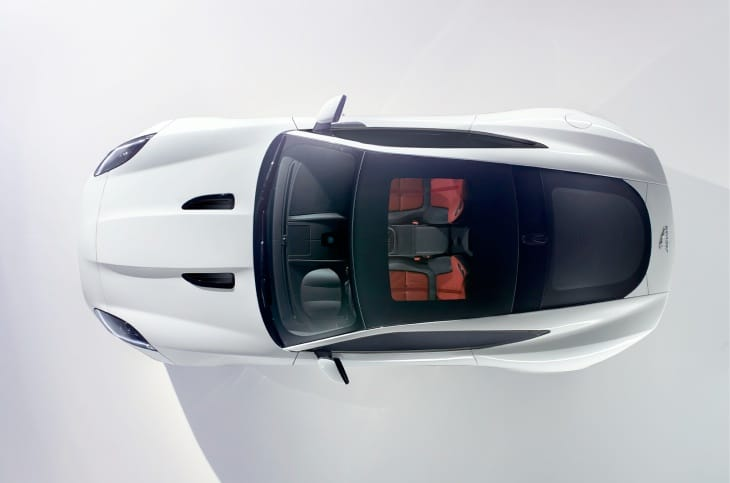 The Jaguar F-type coupe is a thing of beauty
